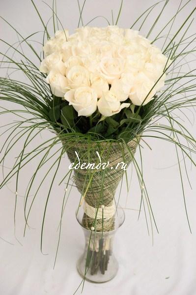 Синий подарочный букет на свадьбу цветы на заказ барнаул 20 рублей 1 роза